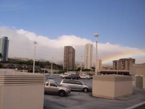 パールリッジの虹