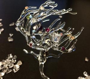 ラグジュアリーガラスアート宝の木1(S)